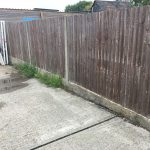 Old and tired Fencing Run in Ashford Kent