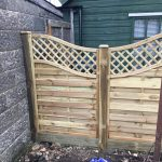 Installed Fencing panels