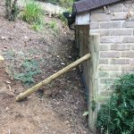 Stake fencing installed in Kent