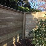 Acoustic Fence install in garden Kent