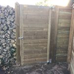 Acoustic Fencing gate