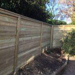 Acoustic garden Fence nearAshford